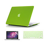 3 in 1 Quicksand Matte Case  with Keyboard Cover and Screen Protector  for  MacBook Pro 13
