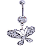 Summer jewelry Alloy / Zircon Navel & Bell Button Rings Party / Daily / Casual 1pc