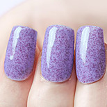Ekbas Environmentally Safe Sugar Gum Lavender 16ML Glitters Nail Polish