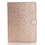 Fashion Diamond Leather Case For Apple iPad Air 2 Flip Stand Smart Tablet Protective Case Cover For iPad Air Shell