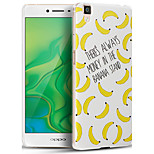 3D Relief Graphic Pattern Fashion PC Material Back Cover for OPPO R7