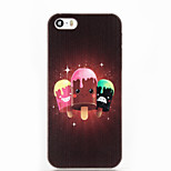 Cartoon Popsicle ABS Hard Back Case for iPhone 5/5S/SE
