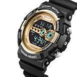 reloj deportivo Hombre / Unisex Resistente al Agua / Cronómetro / Noctilucente / Velocímetro Cuarzo Japonés Digital pulsera