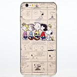 Snoopy Family Transparent Back Case for iPhone 6 Plus/6S Plus