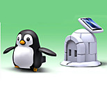 DIY Toy Solar Powered Gadgets For Boy Children Educational ABS White / Black