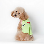 Dog Shirt / T-Shirt Green / Pink Summer Cartoon Plaid / Fashion-Lovoyager