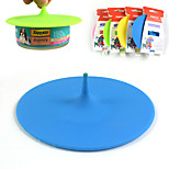 Canned pet silicone cover Hat to cover food cover shape silicone lid dog food