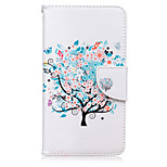Trees Pattern Card Phone Holster For Huawei Honor 5X/Ascend P9/Ascend P9 Lite