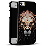 High Quality Embossed Lion Soft Protective Back Cover iPhone Case for iPhone SE/iPhone 5S/5