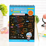 Scratch Paper DIY Drawing Note(1 PCS L)