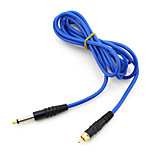 High Tension Powder Free Silicone Clipcord With RCA