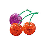 3D Crystal Cherries Blocks Puzzle Diy Creative Educational Toys Small Children Toys
