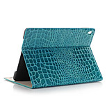 Fashion High Quality Slim Crocodile Leather Case For iPad Pro Mini Smart Cover With Stand Alligator Pattern Case