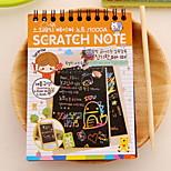 Scratch Paper DIY Drawing Note(1 PCS S)