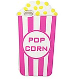 3D Cartoon Popcorn Full Wrapping Soft Shell of Silica Gel for iPhone6/6s/6 Plus/6S Plus(Assorted Colors)