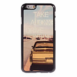 Car Cool Word Sheet PC Bottom IML With Back Case For Iphone6/6s