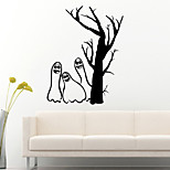 aw9459 Halloween Creative Cute Gost Home Wall Halloween Party Decal Vinyl Wall Stickers for Shop Window