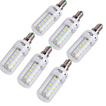 YouOKLight® 6PCS E14/E27 4W  36*SMD5730  Warm White Cold White CRI>80 LED Corn Bulbs Lamp(AC110V-120V/220V-240V)