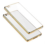 ASLING TPU Ultra Transparent Soft Case with Electroplated Edge for XIAOMI 5