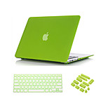 3 in 1 Quicksand Matte Full Body Case  with Keyboard Cover and Dust plug for  MacBook Air 13