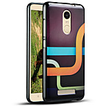 Relief Pattern Silicone Material Back Cover for RedMi note3
