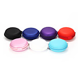 1Pc SD Hold Case Storage Carrying Hard Bag Box for Earphone Headphone Earbuds Memory Card 7 Colors Assorted 8*3cm