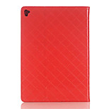 Unique Design Luxury Grid pattern PU Leather Case Flip Cover For Apple iPad Pro 12.9 inch Tablet With Card Slot