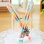 Colorful Dream Black Ink Gel Pen(1 PCS)