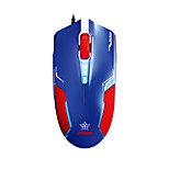 e-3LUE ems613 wired mouse da gioco (Captain America)