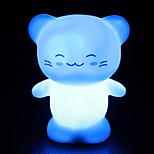 Creative Color-Changing Colorful Happy Cat LED Nightlight