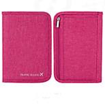 Travel WalletForTravel Storage Fabric Grey / Purple / Orange / Rose 18*13.2*3