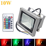 HRY® 10W 1000LM RGB LED Flood Lights 16 Colors Waterproof LED Floodlight (12V)