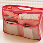Candy Color Portable Cosmetic Admission Package Wash Package Package Travel Bags Finishing Packet