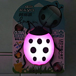 Creative Color-changing Cartoon Lady Beetle Sensor Relating to a Night Light(Assorted Color)