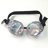Unisex's Retro/Vintage / Fashion / Aviator / Geek & Chic Mirrored / 100% UV400 Oval Silver Sunglasses Half-Rim
