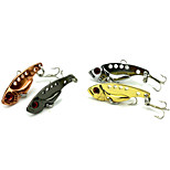 3.5cm 3.49g/pcs Fishing Lures Bionic Bait CrankBait Spoon Crank Bait Tackles 4 PC