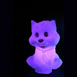 Creative Color-Changing The Little Cat Colorful LED Night Light
