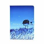 Persönlichkeit gemalt PU-Leder Flip-Shell Holster für ipad AIR3 / ipad mini pro