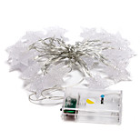 brelong 20-ledede 10m utendørs christmas decoration varmt hvitt LED string lys (dc4.5v)
