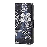 White Flower Magnetic PU Leather wallet Flip Stand Case cover for Sony Xperia XA PP10 F3111 F3112 F3113