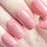 ekbas 16ml respectueux de l'environnement gomme de sucre rose paillettes de vernis à ongles