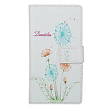 Little Fresh Dandelion Pattern PU Leather Full Body Cover with Stand for Huawei Ascend P9