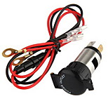 Motorcycle Car Motorbike Boat Tractor Charge Power Socket Plug 12V