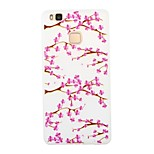 The Plum Blossom Luminous Dream Catcher Pattern Sofe TPU Case for Huawei P9 Lite