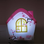 Creative Color-changing Small House Sensor Relating to Baby Sleep Night Light(Assorted Color)