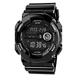 reloj deportivo Hombre Calendario / Cronógrafo / Dos Husos Horarios / alarma / Noctilucente Cuarzo Digital Reloj de Pulsera