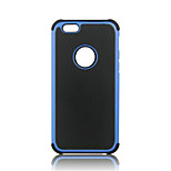 pc + doppio strato di silicone caso robusto antiurto di iphone 5 / 5s / SE (colori assortiti)