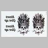 Fashion Tattoo American Indian Waterproof Tattoo Stickers