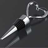 Heart Shaped Red Wine Stainless Steel Wine Stoppers