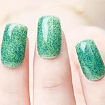Ekbas Environmentally Safe Sugar Gum Green 16ML Glitters Nail Polish